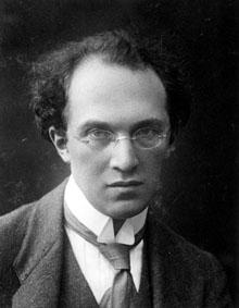 Photo: Franz Schreker, about 1912
